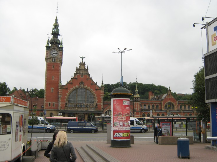 Memories from Gdansk 22.6.12.; train station