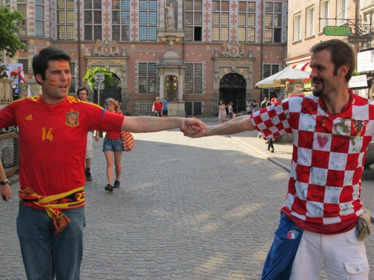 Spain and Croatia together...