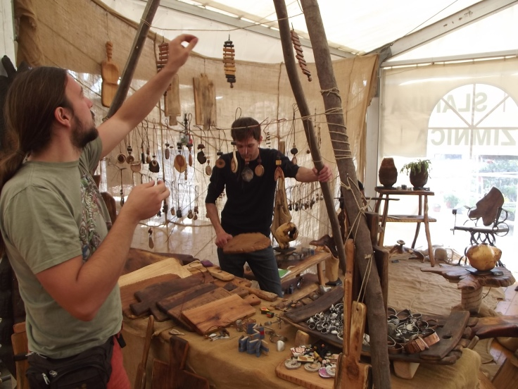 March Zagreb Croatia, wood craft masters :D