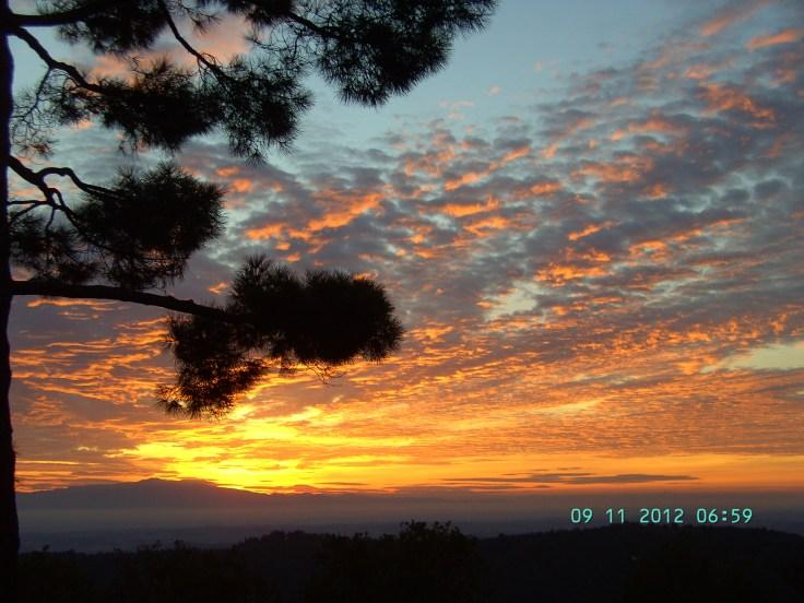 sky above Toscana