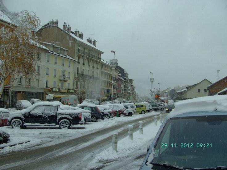 Modane snow